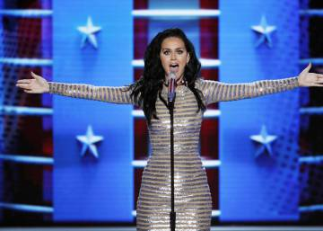 Katy Perry lanza un tema disco contra Trump