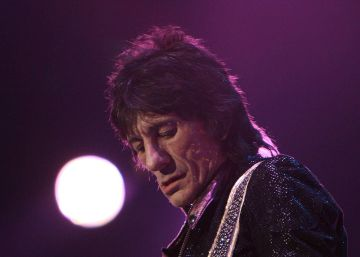 Ron Wood, guitarrista de The Rolling Stones.