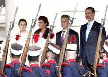 Argentina's President Macri begins state visit to Spain