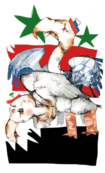 El reparto del botín sirio