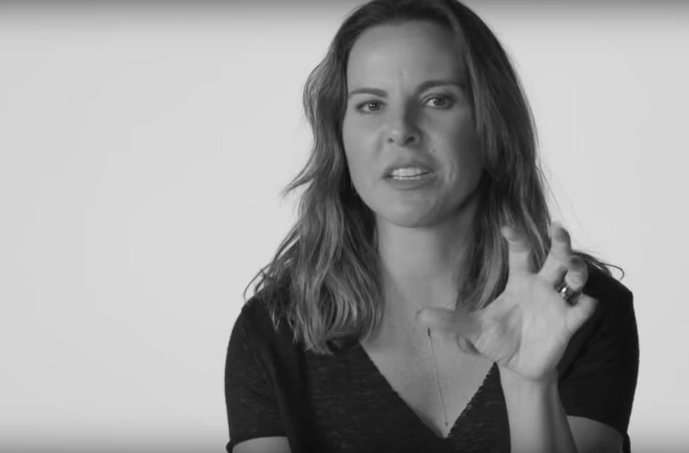 Kate del Castillo en un momento del vídeo.