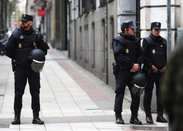 Spanish police evict far-right squatters from upscale central Madrid building