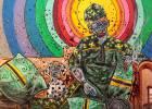 Heredero de Basquiat, rapero y marfileño