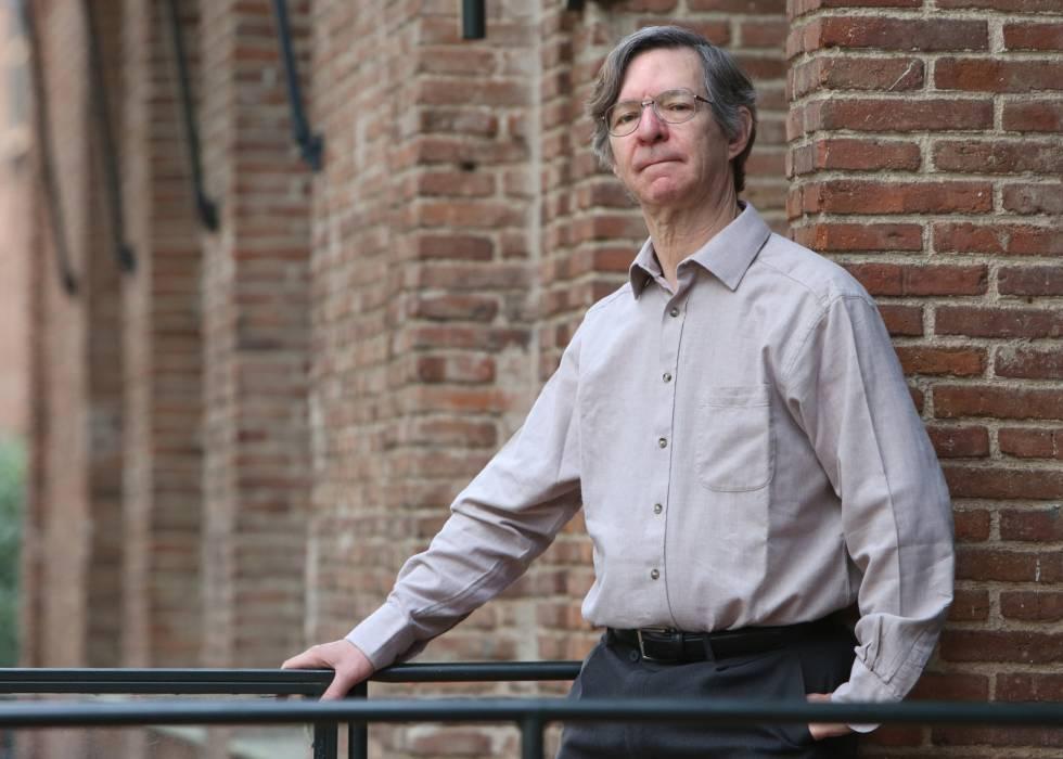Alan Sokal, cientifico estadounidense, en la Residencia de Estudiantes de Madrid.