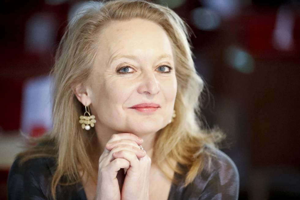 A jornalista Karin Bojs.