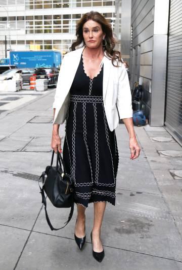 Caitlyn Jenner por una calle de Los Ángeles.