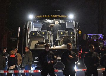 Spanish player injured in attack against Borussia Dortmund bus