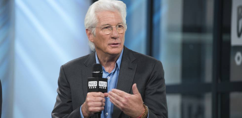 Richard Gere, en plena promoción de Norman.