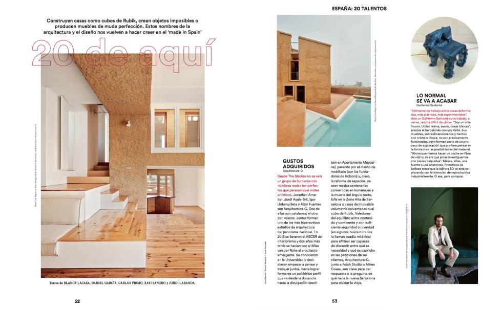 Nace icon design la revista de dise o interiorismo y for Revista habitat arquitectura diseno interiorismo