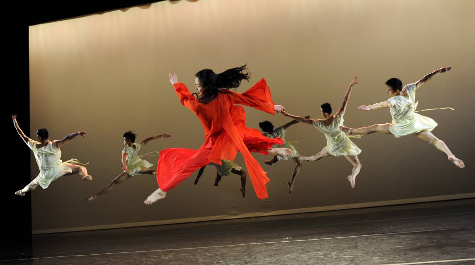 Jin Xing en el teatro de Shanghai.