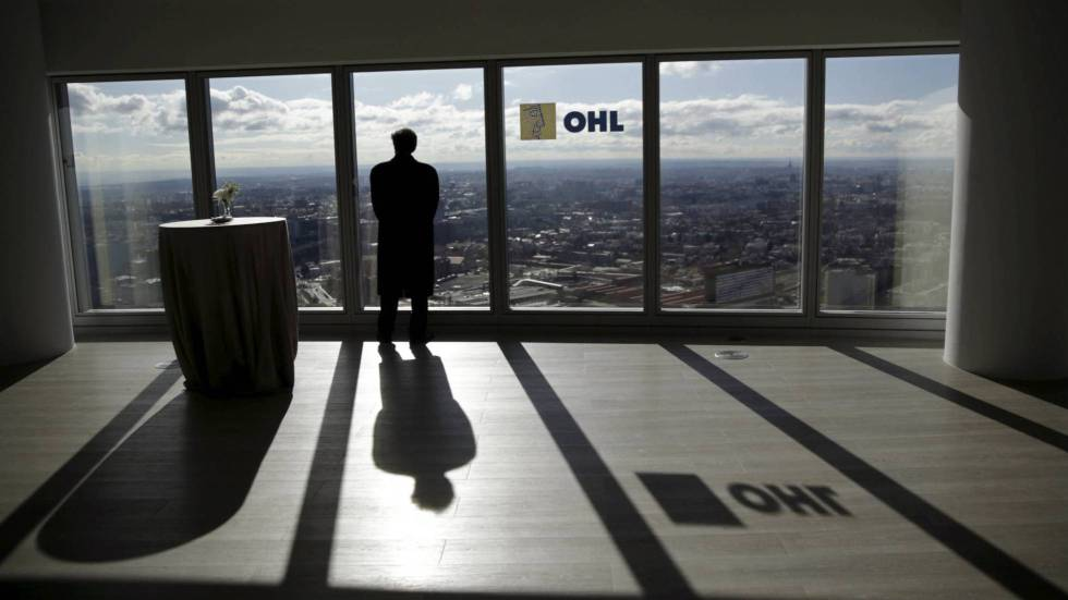 The headquarters of construction firm OHL were raided on Thursday.