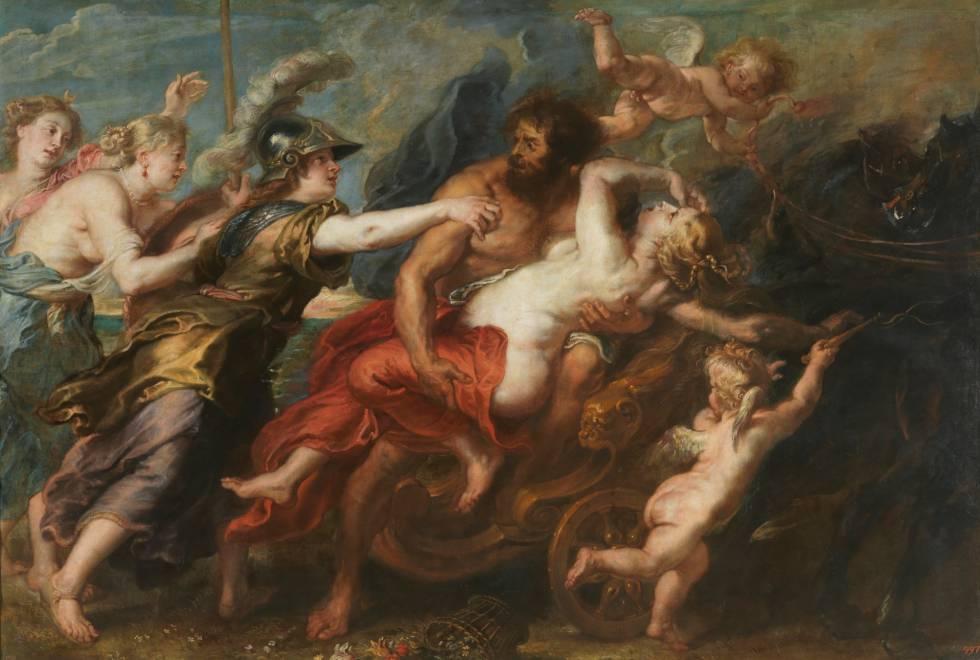 'El rapto de Proserpina', de Rubens.