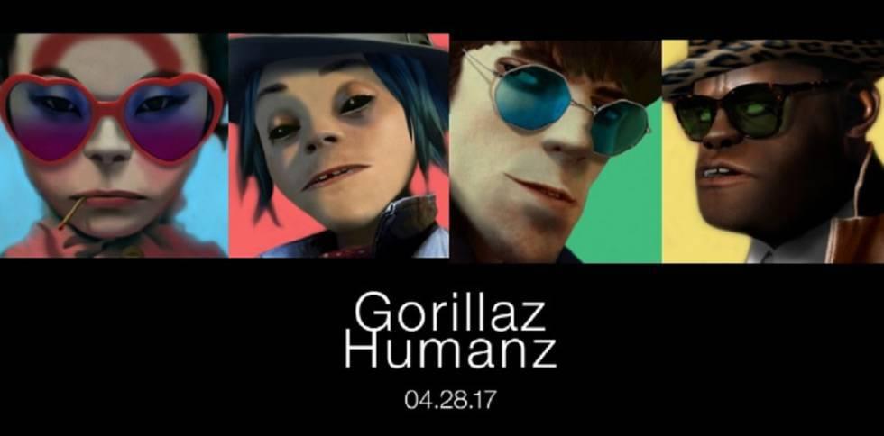 Resultado de imagen de Gorillaz