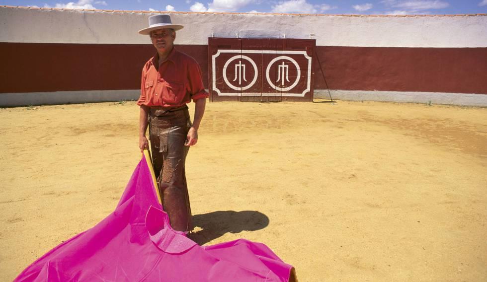 Sebastian Palomo Linares, en una capea.