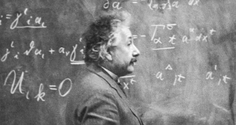El físico Albert Einstein, padre de la Teoría de la Relatividad, en 1931.