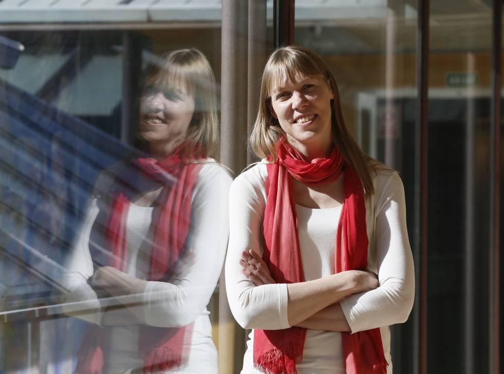 Catherine Heymans, física, y especialista en materia oscura en la Fundación BBVA, en Madrid