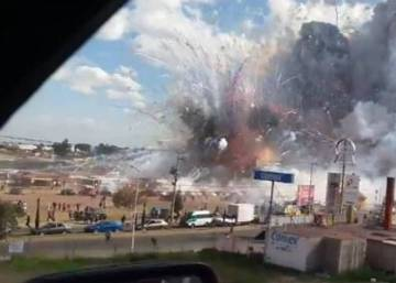 Mexico: At least 31 dead in explosion at fireworks market
