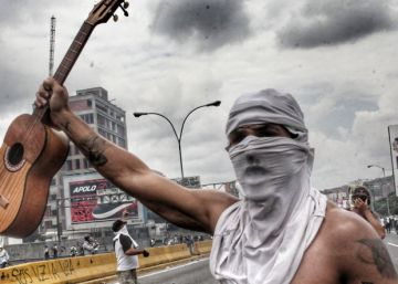 Venezuela's naked protester and other forms of non-violent resistance