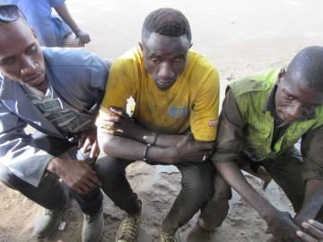 Aliou Diamanka, Daouda Diallo y Samba Dembelé llegaron hasta Libia, pero se vieron obligados a regresar a Kolda.