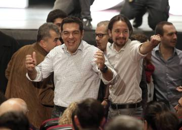 For Spain's Podemos, not much to celebrate over Macron's win in France