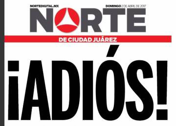 Mexican newspaper 'Norte' closes, citing fears for safety of its journalists