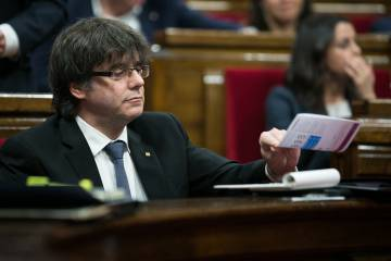 Catalan premier Carles Puigdemont wants to hold a new referendum.