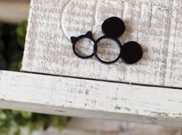 Modelos de anillo diseñados por la hija de Obijuan, de solo siete años.