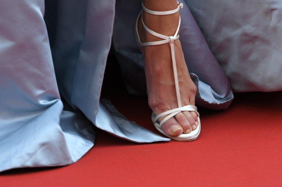 Sabemos que ser ángel de Victoria's Secret es muy sacrificado, pero esta imagen de los pies de la modelo sueca Elsa Hosk duele solo de verla.