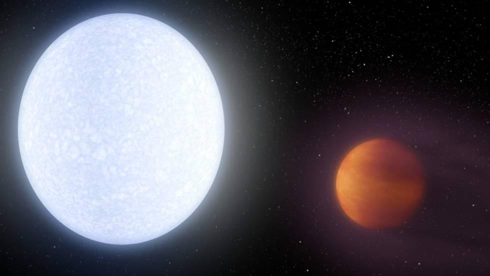 Resultado de imagen de KELT-9b,