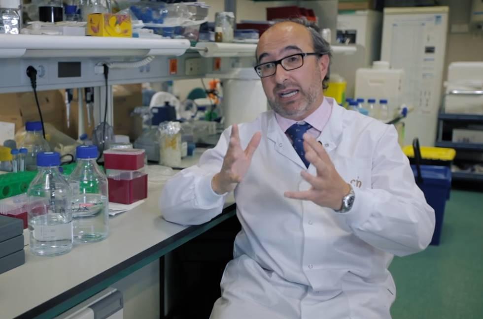 El investigador Manuel Hidalgo.
