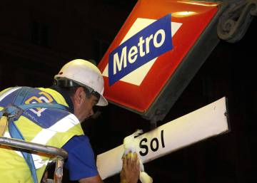 Short and simple: Madrid's Sol Metro station regains its original name