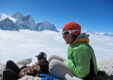 The Spanish doctor with a surgery on Mount Everest