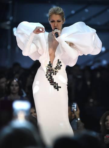 Céline Dion, el pasado mayo durante su actuación en los premios Billboard.