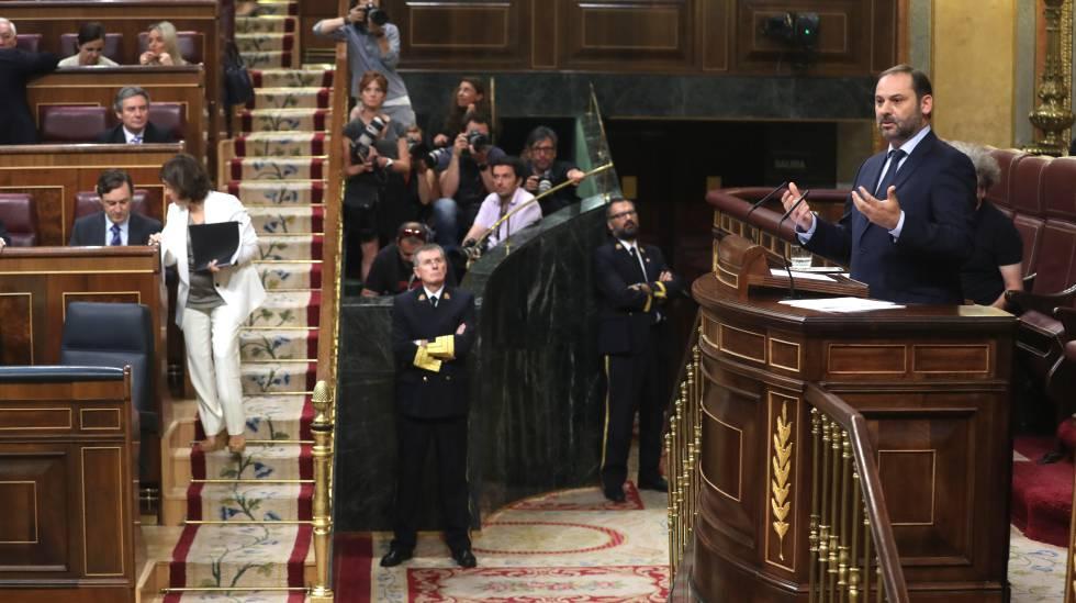 Debate de la moción de censura de Unidos Podemos a Mariano Rajoy. Intervención de José Luis Ábalos.