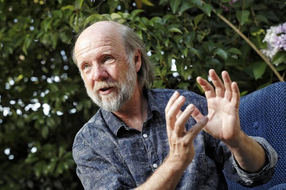 Marten Scheffer, ecólogo holandés, en la Fundación BBVA.