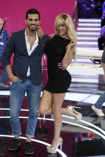 Suso Álvarez e Ylenia Padilla durante uno de los debates de 'Gran Hermano 17'.