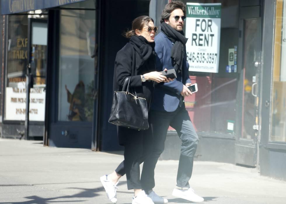 Carlota Casiraghi y el productor Dimitri Rassam en Nueva York el pasado mes de abril.