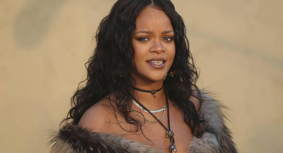 Rihanna en España