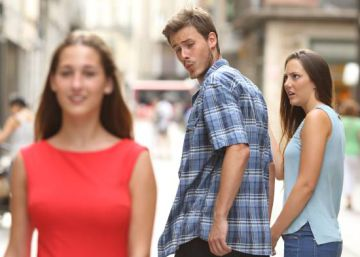 "Revealed: the ""distracted"" boyfriend in viral meme is from Spain"