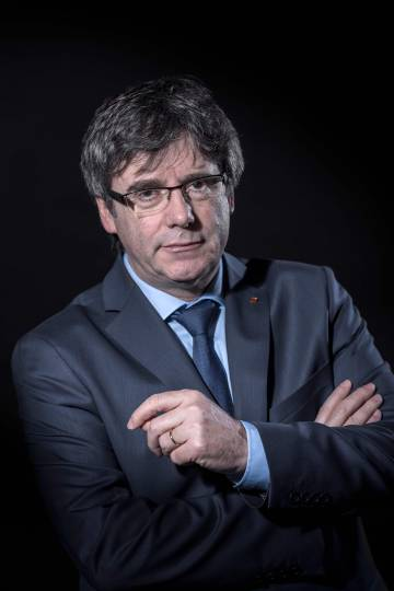 Ousted Catalan premier Carles Puigdemont is living in self-imposed exile in Brussels.
