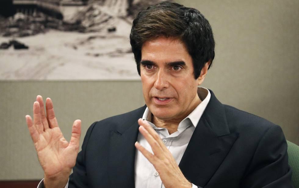El mago David Copperfield 'pierde' uno de sus trucos estrella pero no su dinero
