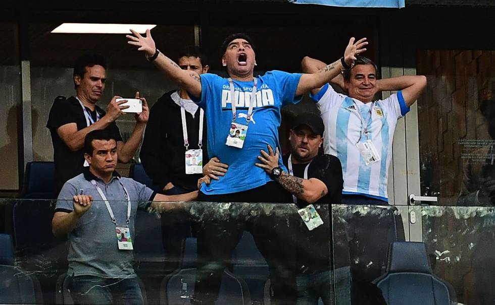 Maradona ofrece recompensa para encontrar al autor de los audios