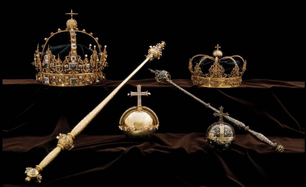 Cinematográfico robo de dos coronas reales en Suecia