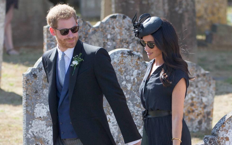 Hijos de Meghan y Harry serán custodiados por reina Isabel II