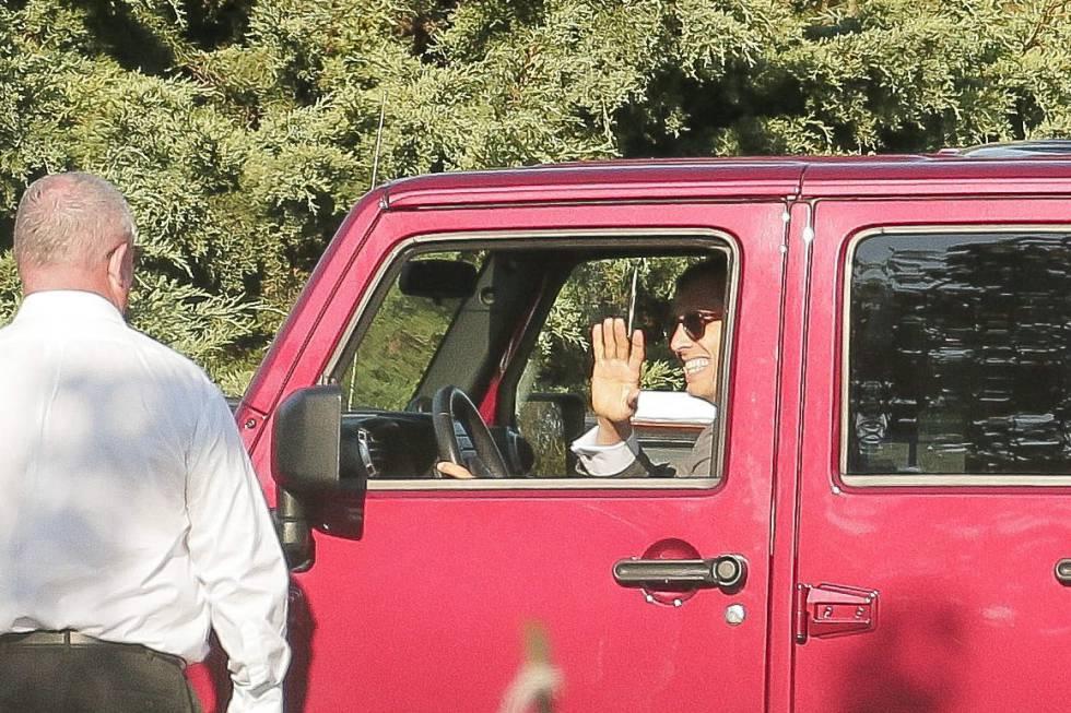 Primera foto de la boda de Gwyneth Paltrow y Brad Falchuk