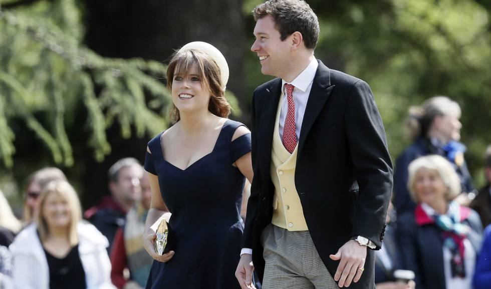 El viento fue el protagonista en la boda de la princesa Eugenia