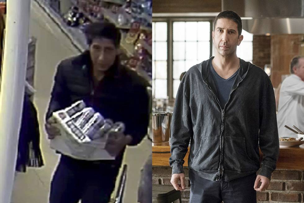 La policía busca a un 'doble' de Ross de 'Friends' por robo