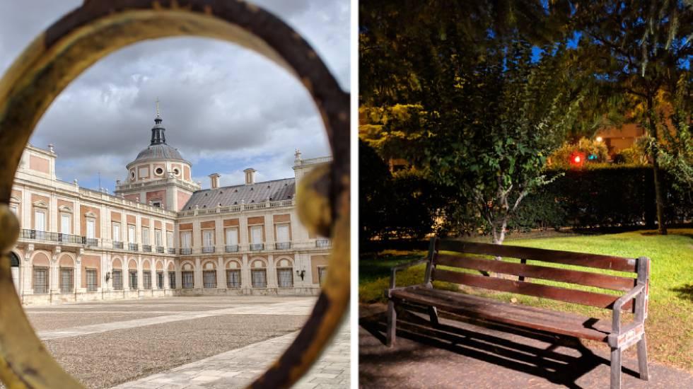 A la izquierda, imagen tomada de día y con el modo automático del Pixel 3 y, a la derecha, imagen de noche con el mismo modo.