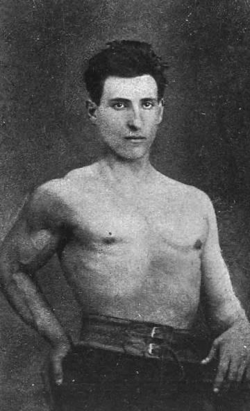 Cajal, a los 18 años.