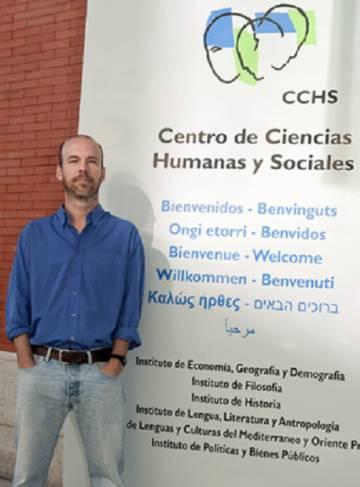 Ignacio de la Torre, arqueólogo español del CSIC que ha participado en el estudio de la Garganta de Olduvai (Tanzania).